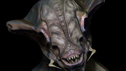 Creature Alien Sculpt