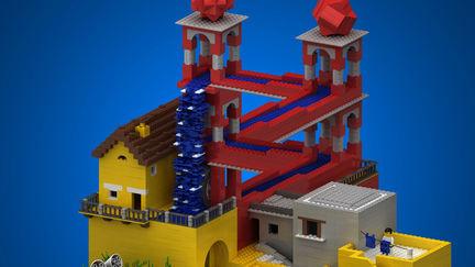 LEGO Escher