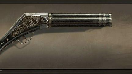Assassin's Creed Unity Conceptart Pepper Box GUN Arno