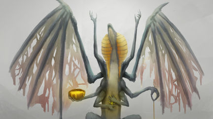 Ancient sacred dragon