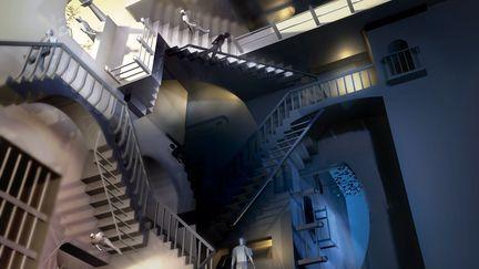 MC Escher lighting test