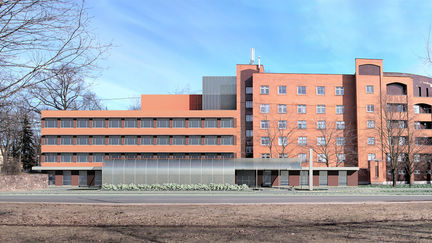 Latvia Traumatology and Orthopaedic Hospital Resuscitation and Admission department easement