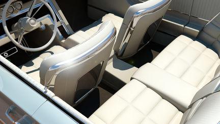 1966 Thunderbird interior