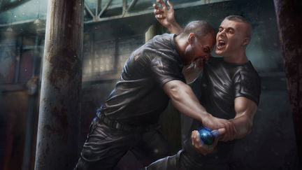 Vlad and Samael Fight for the Allstone