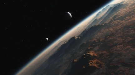 Les lunes de Proxima Centauri Bb