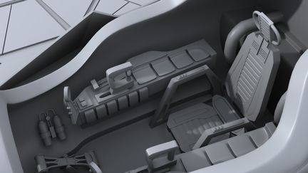 Jedi Starfighter Model 2