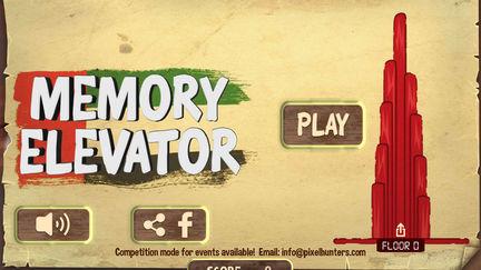 Memory Elevator Game
