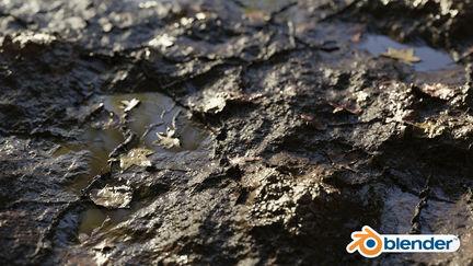 Semi-Procedural Mud Material (Tutorial+Files)