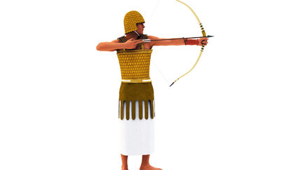 Ancient Egypt Chariot Warrior NK A