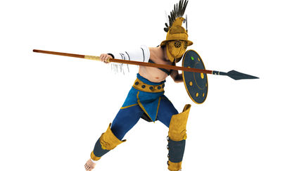 Ancient Rome Gladiator Hoplomachus