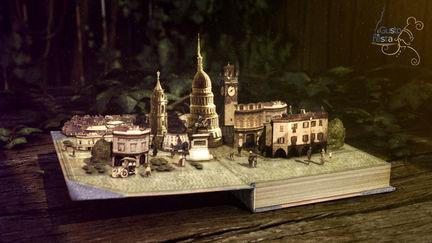 Book animation