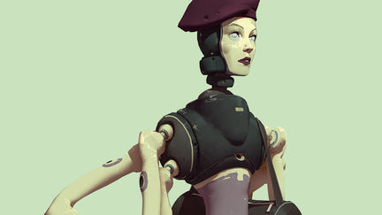 Robotic_artist_girl