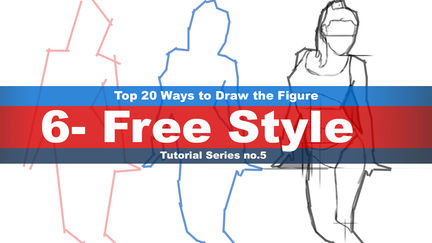 Top 20 Ways to Draw the Figure Chapter six (6-Free Style)