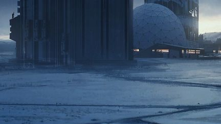 sci fi base concept