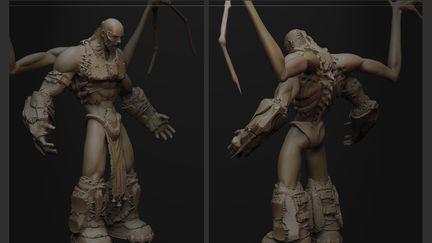- Dominance War V - 3D - Jorge Lescale - God of  Darkness -HPD