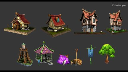 3D Fantasy Asset