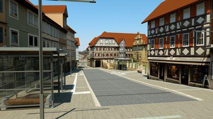 Urban street visualisation