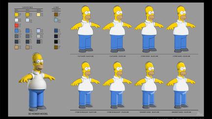 Simpsons Ride Film - 08