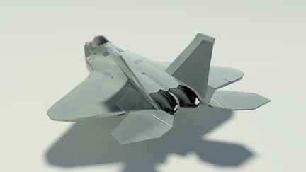 Raptor-F22 Back Profile