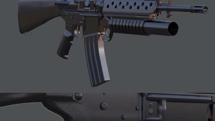 M16 Grenade Launcher