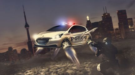The future of police car