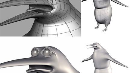Nurbs Penguin 2003