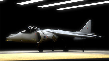Hangar and Harrier