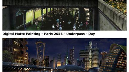 2056 - matte paintings