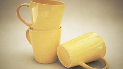 Studio Lit mugs poduct visualization