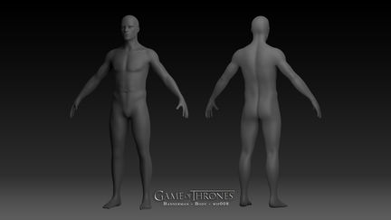Game of Thrones: Bannerman - Body - wip 008