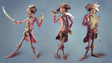 The Pirate Character