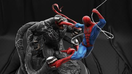 Venom vs Spiderman Fan Art.