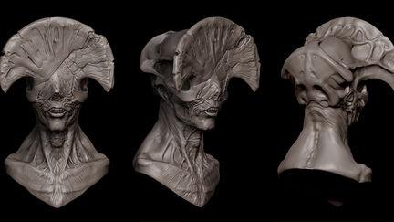 Angel of Death (Hellboy 2 mock up bust)
