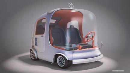 Mini Cartoon Car