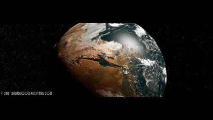 Terraformed Mars Concept