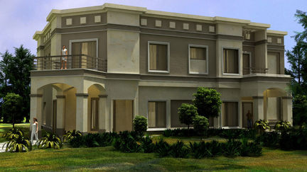Private Residence Exterior Design