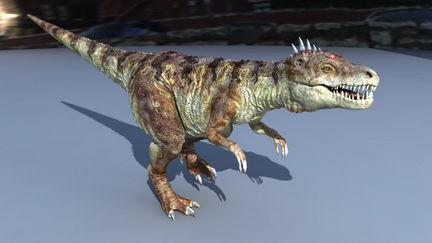 DinoLizardVrayTest