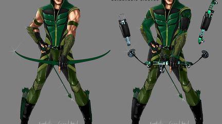 Green Arrow concept design