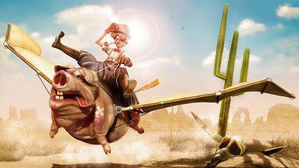 porky's hambone hog lander