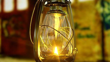 Parafin Lamp for Nkoza & Nankya TV series, Village Scenes