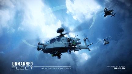 Unmanned Fleet ~ New Battle Frontiers, 3D Concept