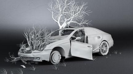 dead Mercedes benz I