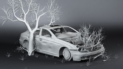 dead Mercedes benz II