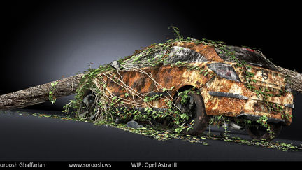 Opel Astra III - WIP - Texturing Complete 1
