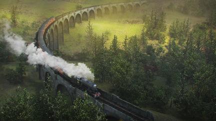 Scotland Steam Train