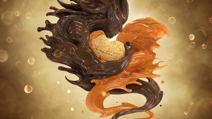 Caramel Loves Chocolate