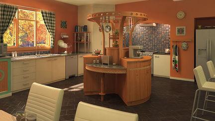 Arch Viz Kitchen