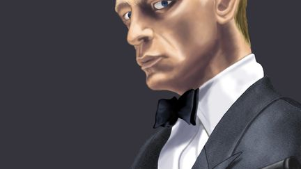 James Bond portrait