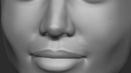 wip woman face - similar to fames actres