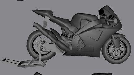 YZR-M1 Yamaha GP bike.
